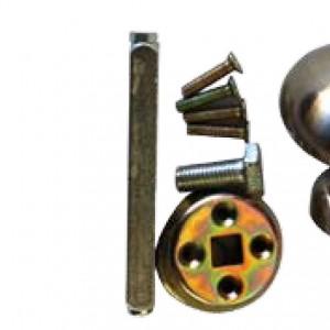 כפתור קבוע לדלת כניסה