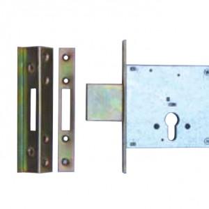 מנעול עליון צור-קומפלט/תפזורת- 4 נעילות